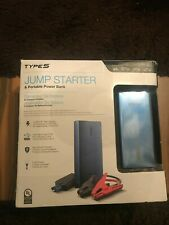 Type S Jump Starter And Portable Power Bank