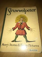 Struwwelpeter Merry Stories & Funny Pictures old alt antik farbig colored