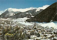 AK - Davos im Winter - im Schnee - Blick auf Pischahorn - Schweiz - neu