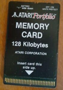 RARE Atari Portfolio 128MB Memory card