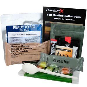 Ration-X Self Heating Field Ration Pack MRE Menu D