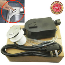 Waste Garbage Disposal Disposer Air Switch Button and Air Hose & Self-Lock Kit