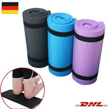 Gymnastikmatte 180x60 Sportmatte 10-15mm Dick Trainingsmatte NBR