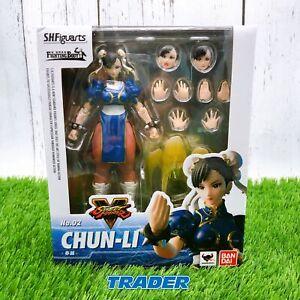 Street Fighter Chun Li Chun-Li S.H. Figuarts Action Figure BANDAI NEW *FASTSHIP
