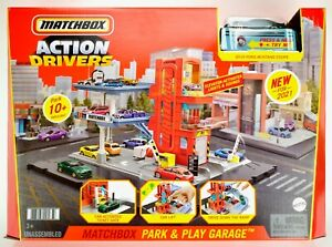 2021 Matchbox Action Drivers Park & Play Garage w/ 2019 Ford Mustang Coupe / MIB