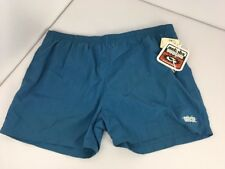 Vintage 90s GOTCHA Blue Surf NWT NEW Men's XL Board Shorts Swim Trunks Lined