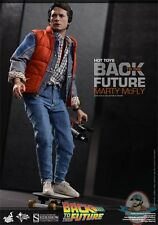 1/6 Scale Back to the Future Marty McFly Action Figure by Hot Toys MMS 257