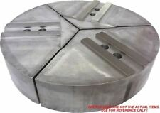 """12-Rkt-10250A Aluminum Round Jaws For 10"""" Kitagawa Chuck With A 2.5"""" Ht 3Pc Set"""