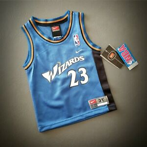 100% Authentic Michael Jordan Nike Wizards Jersey Size 3T Toddler Baby