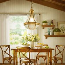 Bar Lamp Glass Pendant Light Room Gold Ceiling Light Kitchen Chandelier Lighting