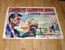 L'AMORE PIù GRANDE DEL MONDO poster manifesto Sheridan Come Next Spring G1