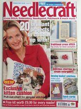 NEEDLECRAFT MAGAZINE- Cross Stitch,Embroidery,Patchwork,Blackwork & much more