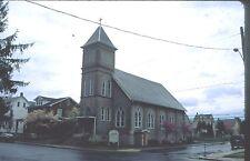historic structures-Churches-Holy Trinity Slovak Lut @ Northampton Pa.Fuji slide