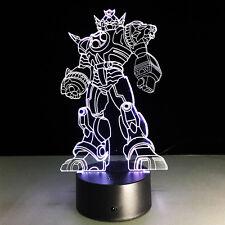 Night Light Lamp Acrylic MOBILE SUIT GUNDAM Gift Christmas Home Decoration NEW