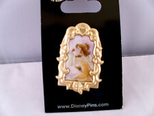 Disney * PRINCESS BELLE * Watercolor in Filigree Frame Pin * New On Card