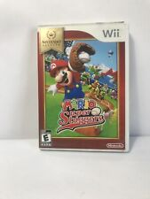 Mario Super Sluggers (Nintendo Wii, 2008) *COMPLETE* MINT