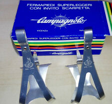 NoS Puntapiedi Toe Clips Campagnolo Super leggeri Vintage size L