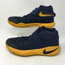 Nike Kyrie 2 Mens Basketball Shoes Athletic 819583-447 Navy Gold 8.5M EUR 42