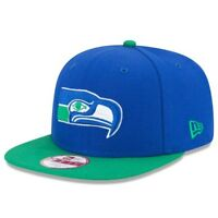 Seattle Seahawks New Era Historic Logo Baycik 9FIFTY Snapback Adjustable Hat -