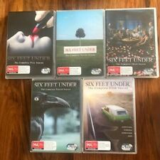 SIX FEET UNDER - THE COMPLETE 1, 2, 3, 4, 5. (24 DISC) IN VERY GOOD CONDITION