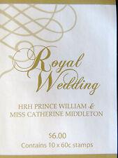 Australian Stamps: 2011 - Royal Wedding Booklet