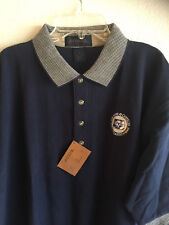 Antigua Bob Hope Chrysler Classic Golf Shirt Cotton New W/ Tags Navy M