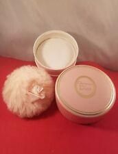 Vintage 1.7 oz Christian Dior Perfume Body Powder 45% Full