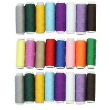 24 PCs Travel Colorful Mixed Sewing Thread Spools String Reels