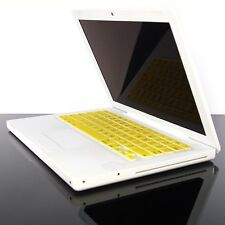 """YELLOW  Silicone Keyboard  Cover for OLD Macbook 13"""""""
