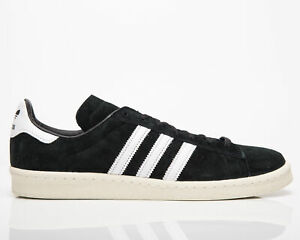 adidas Originals Campus 80s Men's Black White Casual Lifestyle Sneakers Shoes