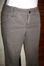 Pantalon court pantacourt stretch épais rayé stretch taille basse ESPRIT 42 n42