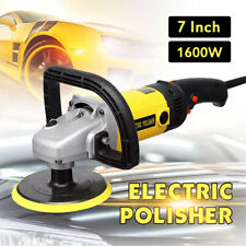 "7"" VARIABLE 6-SPEED ELECTRIC CAR POLISHER/BUFFER & SANDER KIT WAXING MACHINE"