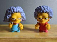 "Kidrobot The Simpsons Series 2 Bouvier Twins 3"" Loose Figures w/Art Sticker 2009"