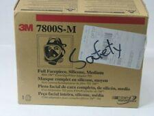 3M™ Full Facepiece Reusable Respirator 7800S-M,  NEW IN BOX Medium