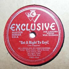 JOE LIGGINS Got A Right To Cry/Blue Moods EXCLUSIVE 210 Exc HEAR
