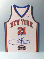 IMAN SHUMPERT Knicks 2012-13 Panini ROOKIE TEAM THREADS AUTOGRAPH NrMt+
