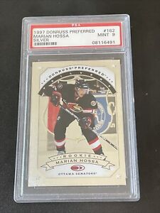 1997 Donruss Preferred Silver MARIAN HOSSA Rookie Card RC #162 PSA 9 MINT POP 59