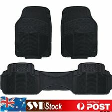All Weather Floor Mat Rubber Car Carpet Trim 3 Piece For Grand Vitara Swift  APV