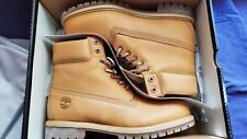 """Timberland 6"""" Premium Limited Boot TB0A1JJB Horween Natural Leather Men Size 10"""
