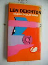 LEN DEIGHTON Billion-Dollar Brain VINTAGE PENGUIN PAPERBACK 1971