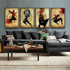 <heros Superman>HUGE OIL PAINTING MODERN ABSTRACT WALL DECOR ART CANVAS