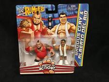 WWE Rumblers 2 Pack - Brodus Clay - Alberto Del Rio WRESTLING (208)