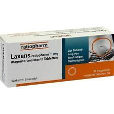 LAXANS ratiopharm 5 mg Tabl. magensaftr.   30 st   PZN3797915