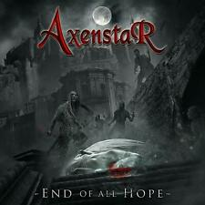 AXENSTAR End Of All Hope CD NEW & SEALED 2019 Melodic Power Metal