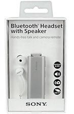 Sony SBH56 Stereo Bluetooth Headset mit Lautsprecher in Silber Originalverpackt