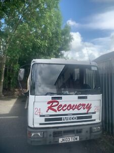 2003 iveco cargo 10 ton tilt slide recovery truck spares/repairs