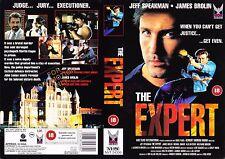 The Expert, Jeff Speakman Video Promo Sample Sleeve/Cover #14327