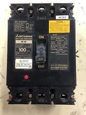 Mitsubishi Nf-Sf 100 Amp No Fuse Circuit Breaker Nf-Sf3100 Used L7