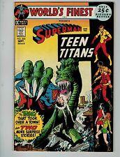 World's Finest Comics #205 (Sep 1971, DC)! FN/VF7.0+! Teen Titans app! Beauty!