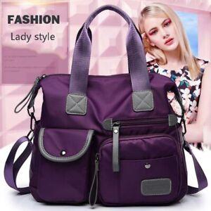 Nylon Waterproof Ladies Large Capacity Shopping Folding Tote Travel Bag
